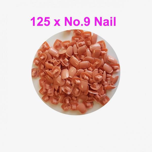 Individual Nail pack No.9 - 125 pcs
