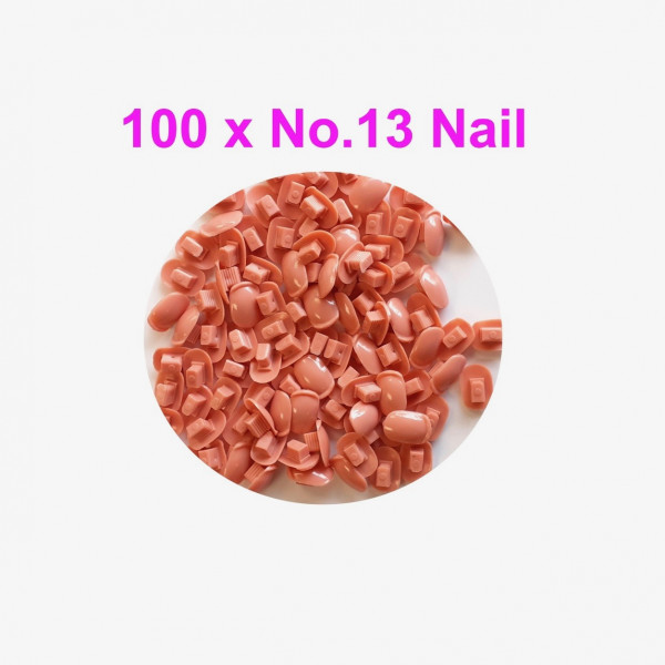 Individual Nail pack No.13 - 100 pcs