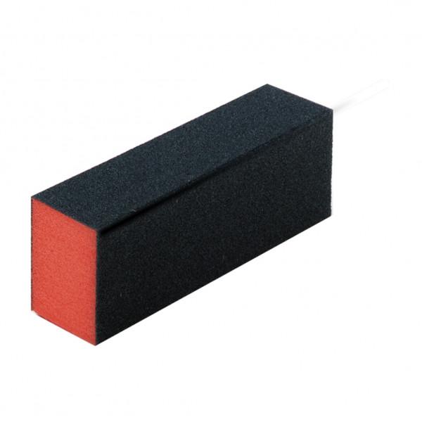 Nail Buffer Block 100/180 Grit Orange and Black