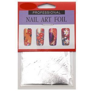 Nail Art Foil - Silver Leaf