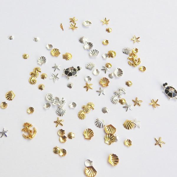 Treasure Of The Sea Nail Jewels
