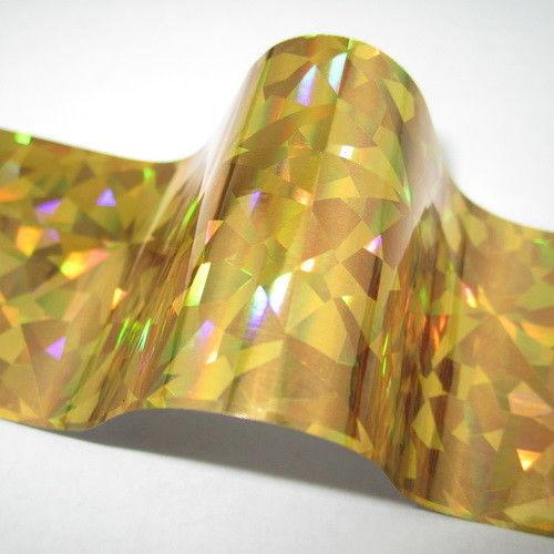 Nail Art Foil - Gold Crush