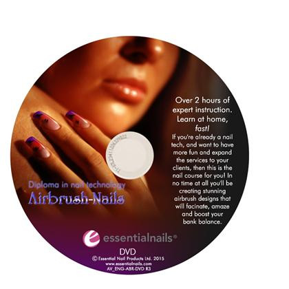 Training DVD (Eng), Airbrush Nails,, .