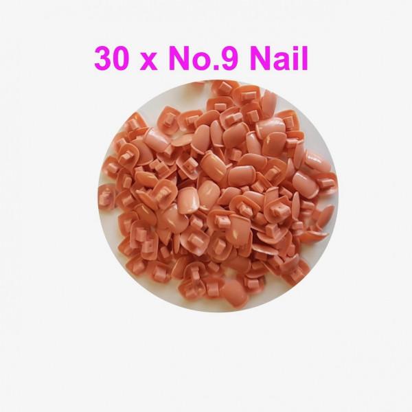 Individual Nail pack No.9 - 30 pcs