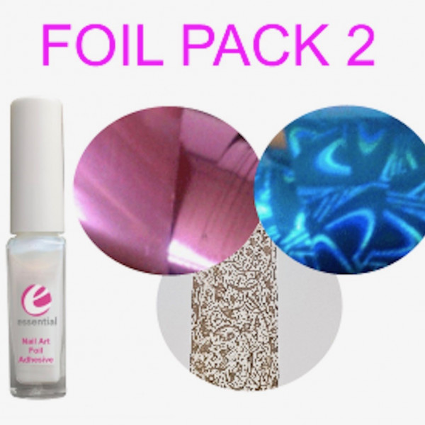 Kit 2 Adhesive and Foils