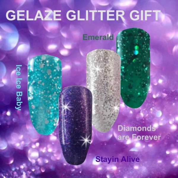 Gelaze Glitter Gift Set